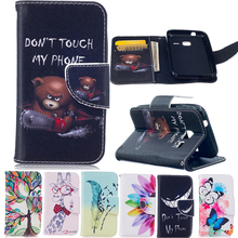 J1 Mini 2016 Case, Flip Stand Wallet PU Leather Skin Cell Phone Back Cover Case For Samsung Galaxy J1 Mini SM-J105H J105 J1 Nxt(China)