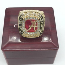 Newest 2016 Alabama Crimson Tide SEC Football Championship Rings For Fans, custom ring ,custom services,birthday gift.