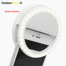 2017 Universal 36 Led Stepless adjusted Selfie Ring Flash Light Camera Enhancing Photography Luminous Lamp for iPhone7 6 Samsung