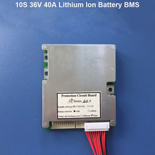 10S 36V or 42V  Lithium ion battery  BMS protection circuit board of 36V Lipo Battery  with 40A constant  working  current