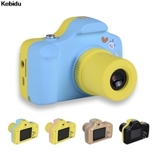 Kebidu High Quality 1.5 inch Shoot LSR Cam SM-100 Kids Take Picture Children 1.0MP Digital Camera Small Size With DIY Stickers(China)