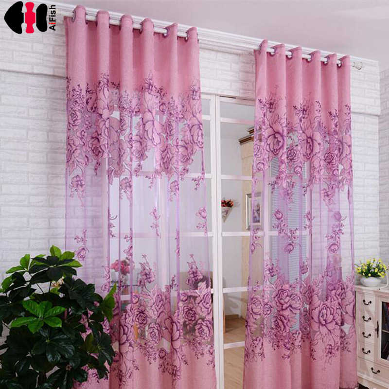Luxury Window lavender curtain for Living Room European Royal Curtains for the Bedroom jacquard curtains cortina persiana WP381B
