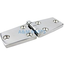 Stainless Steel Marine Casting Door Hinge Heavy Duty Boat Cabinet Hinge 100*37*5mm(China)