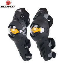 SCOYCO Motorcycle Knee Elbow Combo Kneepad For Men Protective Sport Guard Motocross Protector Gear Motocicleta joelheiras(China)