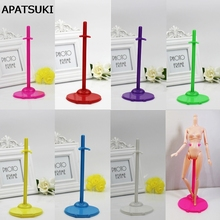 10pcs/lot Doll Stand Display Holder For Barbie Dolls Support For Monster High dolls For Ever After High Doll Accessories(China)