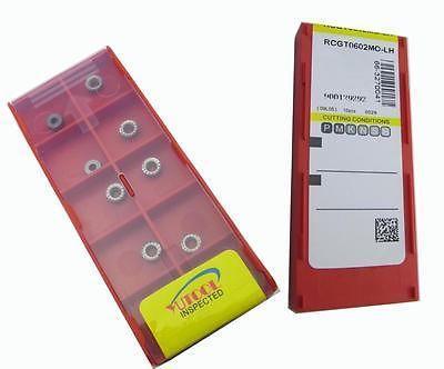 PROMOTION New 10PCS Round RCGT0604 MO ALuminium Carbide Insert Milling cutter<br>