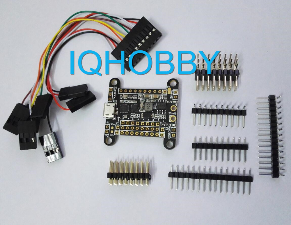 New SP Racing F3 Flight controller Deluxe Version stm32f3 w/ Built-in 5V BEC / Barometer bmp280 for RC Multicopter Free Shipping<br><br>Aliexpress