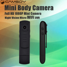 Mini WiFi Camera Micro Night Vision Camera HD 1080P Mini DVR DV H.264 Video Pen Cam Light Body Camera Portable Camcorders