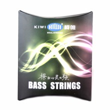 ProSteels Bass Guitar Strings Custom Light 45-105 Long Scale Ultra Thin Coating Electric Bass Strings Medium(China)