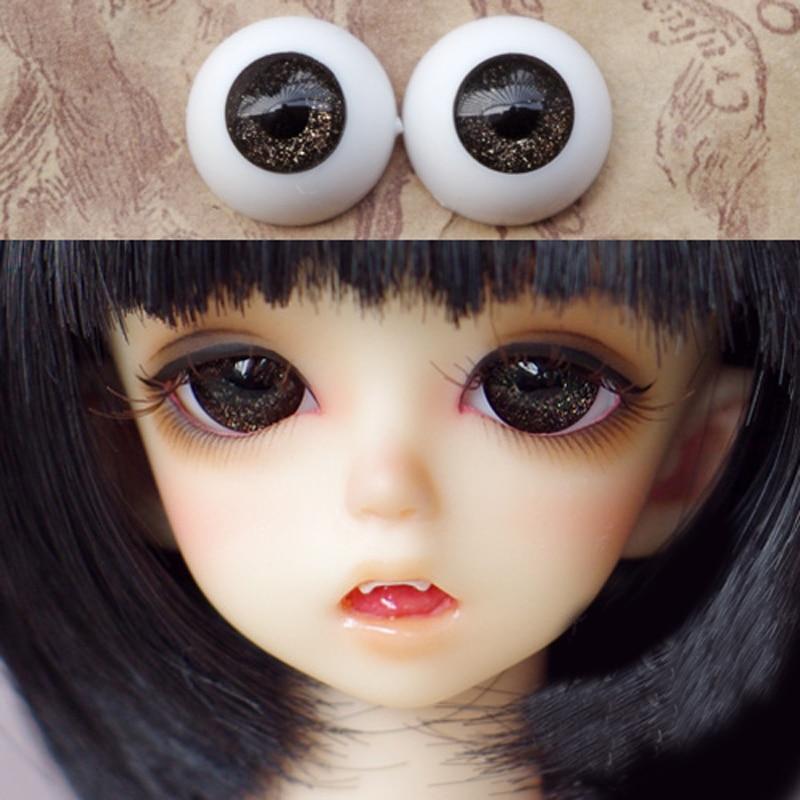 Great Quality FlatBack DarkGreen Glass 20mm BJD Eyes for Reborn//NewBorn BJD Doll