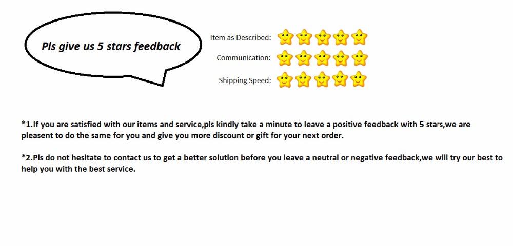 5stars feedback