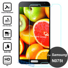 0.26mm Explosion-Proof HD Vision Screen Protector 2.5D 9H Tempered Glass Film For For Samsung Galaxy J SC-02F N075 N075T