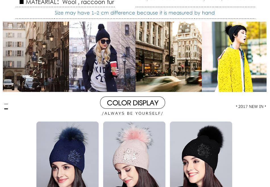 winter hats for women MZ713B (4)