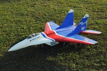 MIG 29 Twin Ducted Fan EDF 90mm FlyFly hobby KIT with fix scale gear