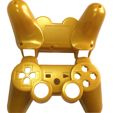 Gold Full Controller Shell Case Housing Button Kit for Sony PS3 Bluetooth Controller(China)
