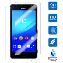 0.26mm 9H Tempered Glass For Sony Xperia Z L36H Z1 Z2 Z3 Z4 Z5 Compact T2 T3 C3 C4 C5 E3 E4 E4G E5 M2 M4 M5 Z5 Premium Film Case(China)