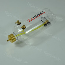 1pcs Updated Version Zyhobby Transparent Plastic Fuel Tank For Gas RC Airplane 700ml(China)
