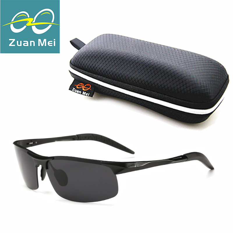 Zuan Mei Brand Aluminum Polarized Mens Sunglasses Mirror Sports Sun Glasses For Women Driving Outdoor Sunglass Glasses  ZM8177LM<br><br>Aliexpress