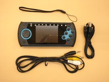 3 Inch Hanldheld Game Console & Video Player Portable Game Console For 16 Bit Game For Nes Game Support SD Card(China)