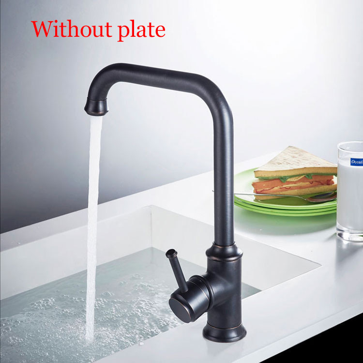 without plate
