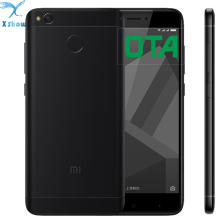 "Original Xiaomi Redmi 4X  4100mAh Battery Fingerprint ID Snapdragon 435 Octa Core 5.0"" 720P 13MP Camera  mobilephone"