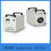 Water chiller  cw3000AG 220V/50/60Hz for cooling Co2 glass laser tube 10w-80w