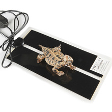 New 220 EU Plug Adjustable Temperature Pet Heating Warmer Reptile Bed Mat 5/7/14/20W(China)