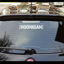 Hoonigan Ken Block Drift JDM Moto Coche Car Stickers Motorcycle Decoration Decal Black Silver For Ford Focus Fiesta VW Golf Bora