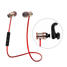 Sports Power Wireless Headset For Mobile Phone Bluetooth 4.1 Earphone With Mic For LG G3 HTC Samsung S7 S6 iPhone 7 6 Plus 5S 5