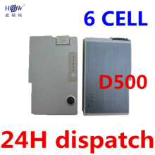 5200mAh 6 cells laptop battery for DELL Inspiron 500m 510m 600m Latitude 500m 600m D500 D505 D510 D510 D520 D530 D600 D610