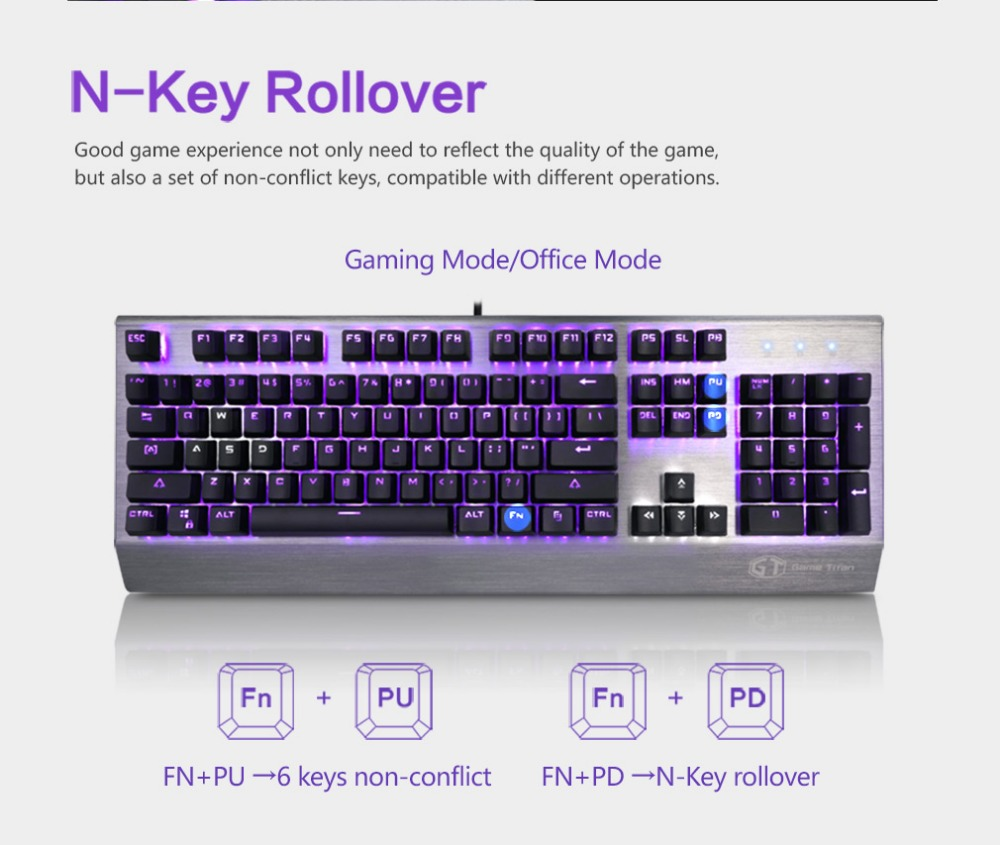 Delux KM02 mini keyboard  gaming mouse Mechanical Keyboard pc mouse wired usb button Ergonomic design Gaming Office For pc gamer