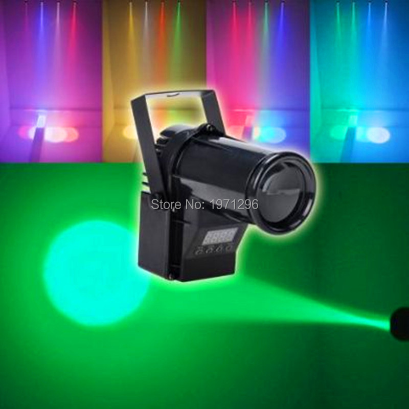 10W RGBW Color-Changing LED Pinspot DMX512 Narrow-Beam Pinspot Stage Lighting Effect for DJs, KTV, Discos...<br><br>Aliexpress