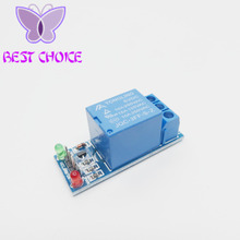 Free shipping 10pcs/lot 1 Channel Isolated 5V Relay Module Coupling For Arduino PIC AVR DSP ARM(China)
