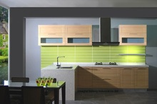 PVC/vinyl kitchen cabinet(LH-PV031)(China)