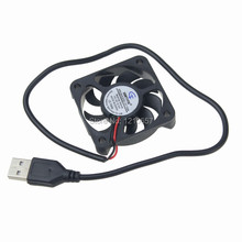 2pcs DC 5V Fan Cooler 50mm 50x50x10mm 5010S USB PC Case CPU Motor Cooling Radiator(China)