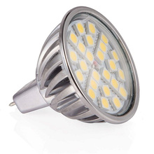 6pcs/lot MR16 LED Light 7W LED Lamp 12V Lampada LED Spotlight Bulb Dimmable SMD5050 Aluminum Shell High Quality Spot Lights