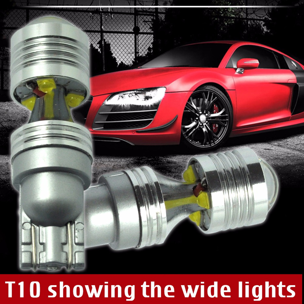 2Pieces/lot 30W T10 194 W5W Canbus Error Free 6 SMD Cree Chips LED Side Wedge Light Bulbs 12V Car Side Wedge Wide light Bulb<br><br>Aliexpress