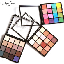 MARIA AYORA 16 Colors Glamorous Eye Shadow Palette Naked Eyeshadow Shimmer Matte Mineral Pigment Eyeshadow Make Up Set(China)