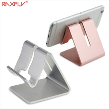 RAXFLY Aluminum Alloy Desk Phone Stand Holder For iPhone 6 6s 7 Plus 5S SE Universal Tablet Bracket Desktop Mobile Phone Holder