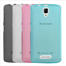 Tomoral Case For Lenovo A2010 A 2010 A2860 Pink Blue Grey Clear Cover Soft TPU Gel Matte Back Shell Defender