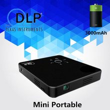 Mini Home Theater DLP Projector HD Beamer HDMI TV Digital Proyector for Gamer PC VCD/DVD Projector