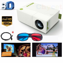 YG300 Mini Portable Home LED LCD Projector YG310 Beamer HDMI /SD/USB Best Gift Toy For Kids Parents Home Theater Film Projector