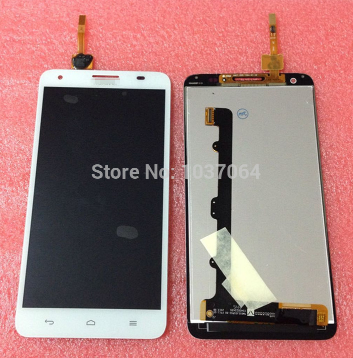 Lcd screen display+Touch digitizer For Huawei Honor 3X G750  white/black free shipping<br><br>Aliexpress