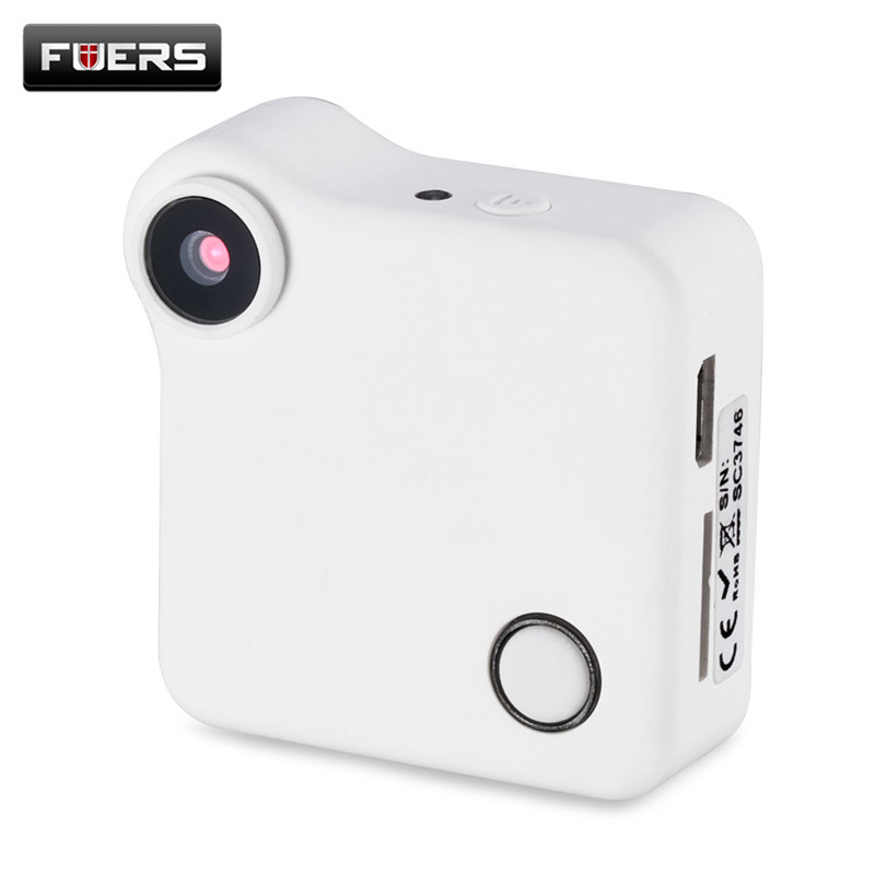 Fuers Mini Camera HD 720P C1 WIFI P2P Wearable IP Camera Motion Sensor Bike Body Micro Mini DV DVR Magnetic Clip Voice Recorder<br>