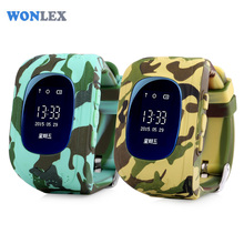 Wonlex Smart Safe OLED Kids GPS Watch SOS Call Wristwatch Child Finder Locator Tracker Baby Anti Lost Monitor SeTracker Q50