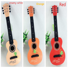 Hot sale1pcs Plastic Guitar baby developmental musical kids instruments baby music toys Preschool children musical instruments