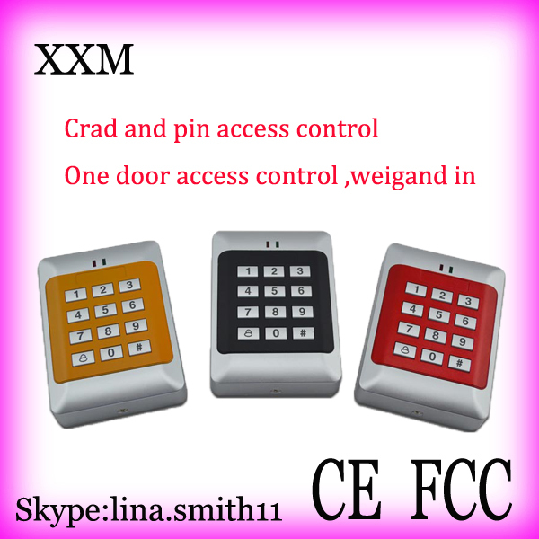 Good quality Single Door Access Control Reader with keypad ,support ID EM card,Standalone Access Control XM105<br>