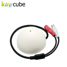 Golf Microphone High Sensitive CCTV Camera Sound Audio Pickup Monitor Device