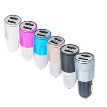 Factory Price MOSUNX Hot Selling New 2-Port USB Universal Car Charger For iPhone6/6s/7 iPod/Ipad Samsung Drop Shipping