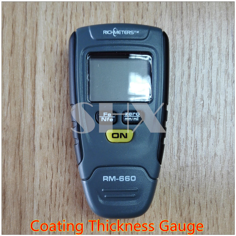 Retail Package Free Shipping New Digital FILM Coating Thickness Gauge Paint Meter Tester for Car Paint Thickness<br><br>Aliexpress